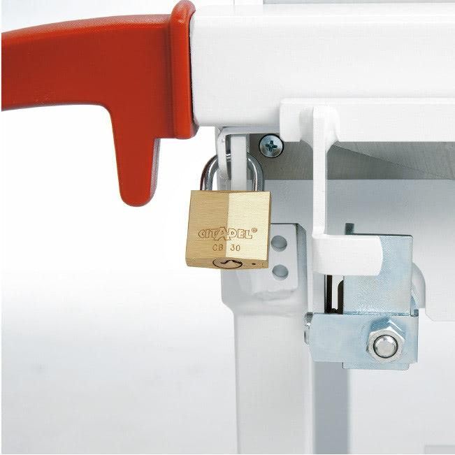 Hebelschneider IDEAL 1110 Sicherheitsvorrichtung