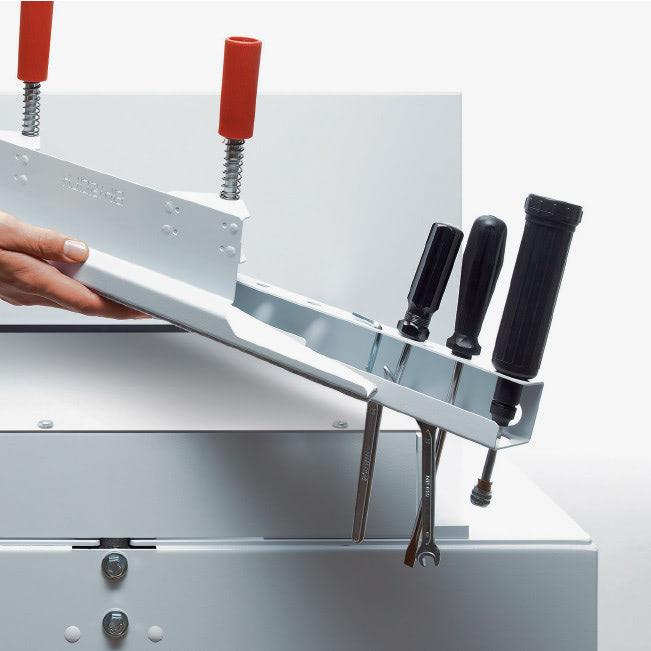 Elektrischer Stapelschneider IDEAL 7260 Werkzeughalter