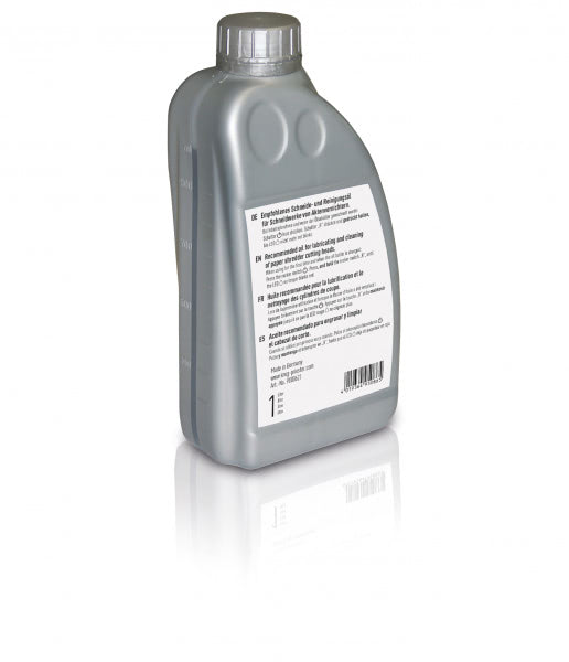 Special lubricating oil for shredders 1000 ml