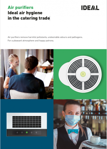Air purifiers Ideal air hygiene in the catering trade