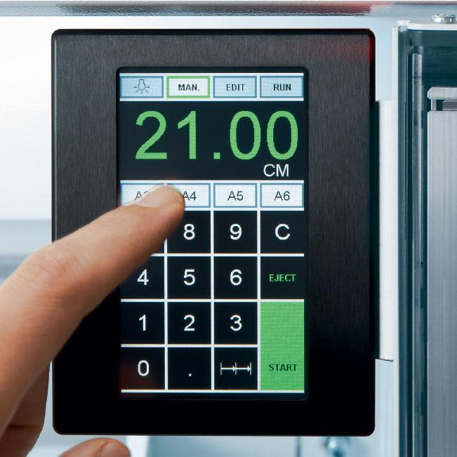 Elektrischer Stapelschneider IDEAL 6660 Touchpad