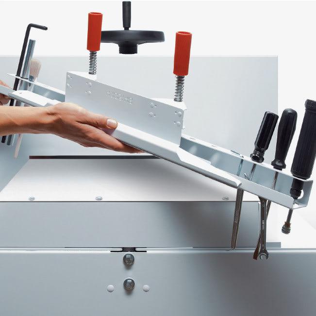 Elektrischer Stapelschneider IDEAL 4815 Werkzeughalter