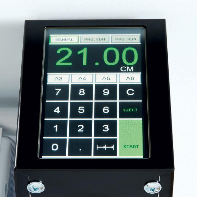 Elektrischer Stapelschneider IDEAL 6655 Touchpad