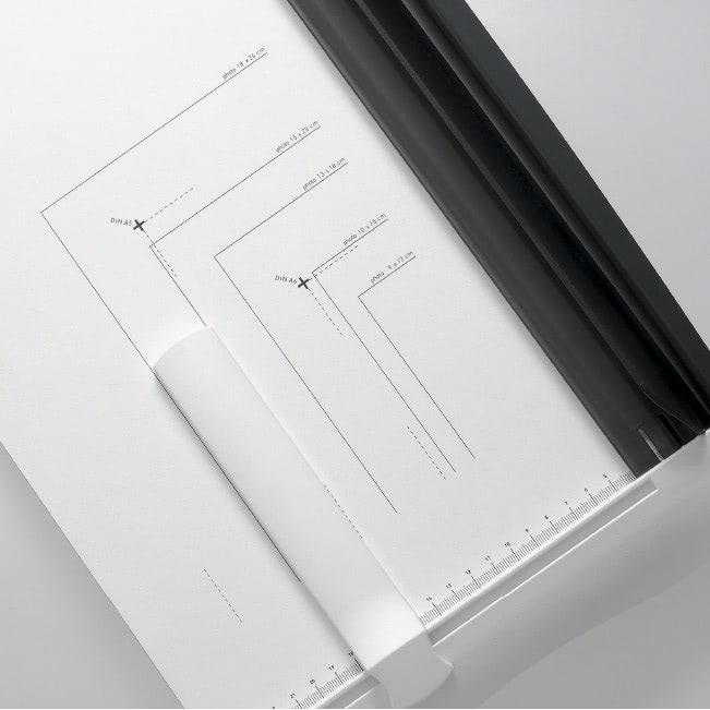 Hebelschneider IDEAL 1142 Formateinteilung