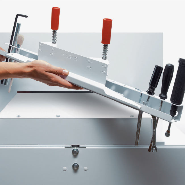 Elektrischer Stapelschneider IDEAL 6655 Werkzeughalter
