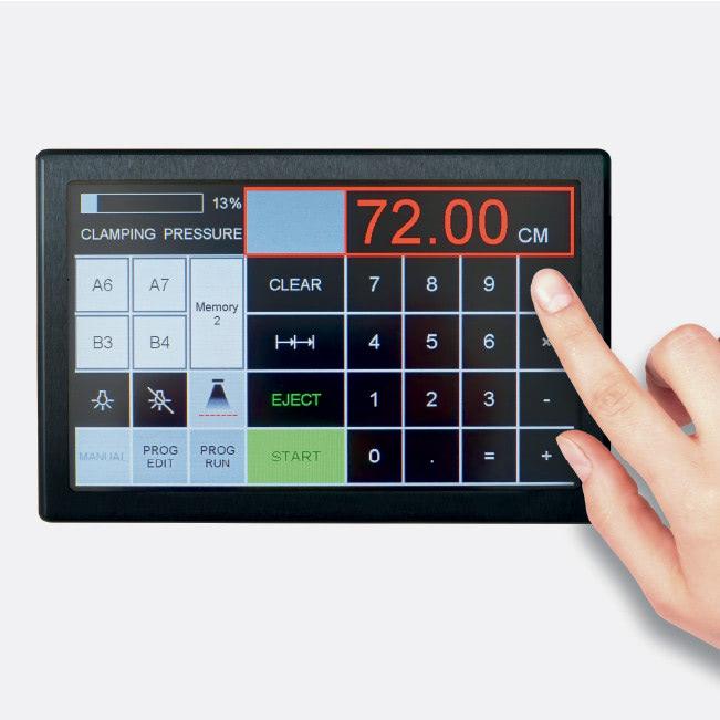 Elektrischer Stapelschneider IDEAL 7260 Touchpad